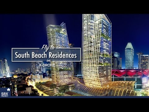 South Beach Residences on X-Drone