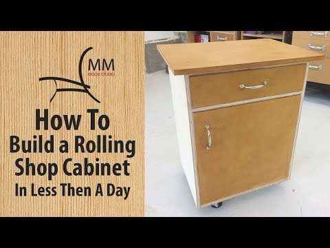 How To Build A Rolling Shop Cabinet