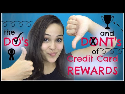 Credit Card Rewards: Do's and Dont's