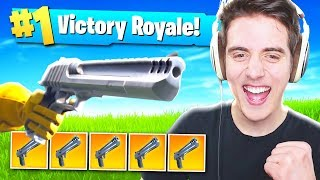 HAND CANNON CHALLENGE - Fortnite: Battle Royale