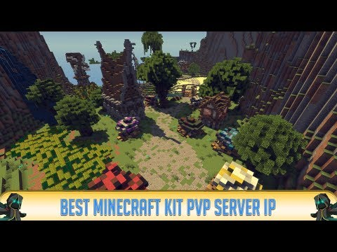 Minecraft 1.12.2 KIT PVP SERVER! (IP in Desc.) | Tons of fun! | 2018 | Best Minecraft Server