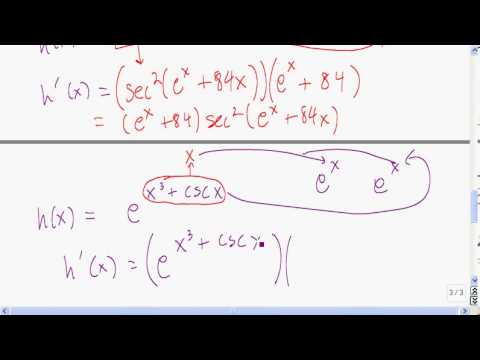 The Chain Rule, part two