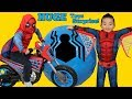 Biggest Spiderman Homecoming Toys Surprise Egg Ever All New Spider man Toys Ckn