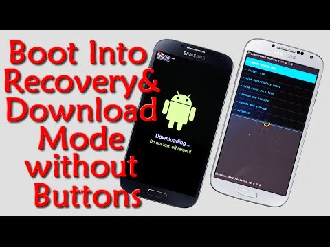 How to Boot Into Recovery and Download Mode without Using Buttons