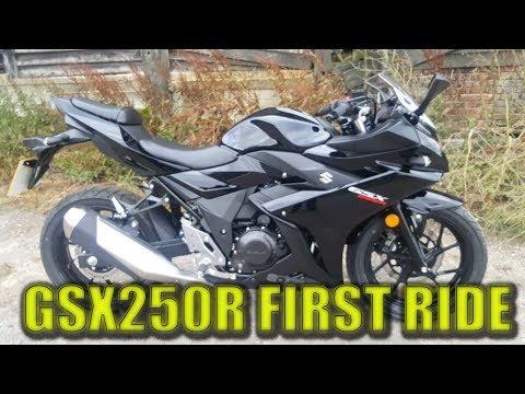 ALL NEW SUZUKI GSX250R - FIRST RIDE - WHEELS MOTORCYCLES