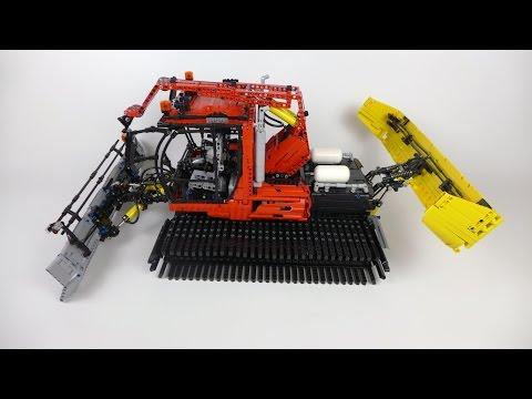 LEGO Technic Snow Groomer - 10 RC Functions!