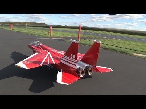 F-15 Rc Model Jet 1:5 Scale Rc Planes Byron Turbine Jet-Worlds Baddest Rc Planes F-15 eagle