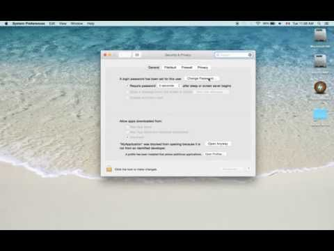 How to disable login password on Yosemite (Mac OS X)