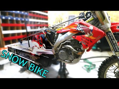 Making The Extreme Snow Bike Part 2