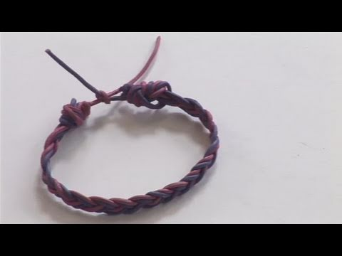 How To Make An Impressive String Bracelet