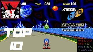 The Sega CD - Mega CD Top 10