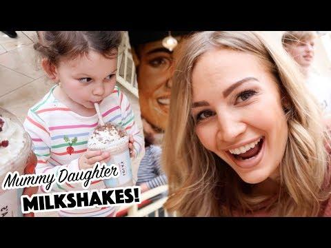 Mummy Daughter Cupcake Milkshakes!