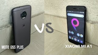 Xiaomi Mi A1 vs Moto G5s Plus Camera, Battery, Performance and Software.