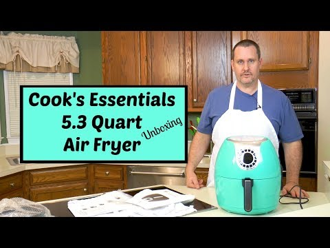 Cook's Essentials Air Fryer Unboxing ~ 5.3 Quart Air Fryer ~ Amy Learns to Cook