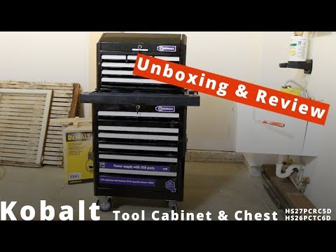 Kobalt Tool Cabinet and Chest Review
