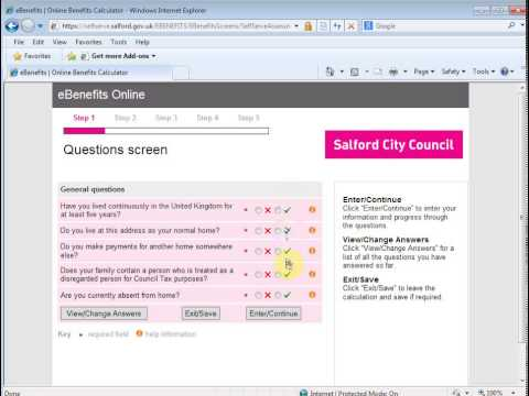 Step2 claim Housing Benefit & Council Tax Reduction