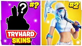 Top 10 Most TRYHARD Skins In Fortnite Season 5!