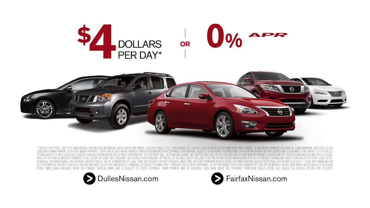 Bottom Line Sales Event at Brown's Nissan