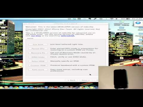 Jailbreak iOS 6.0 and get Cydia with Redsn0w - iPhone, iPod Touch, iPad FREE 2012 Tethered