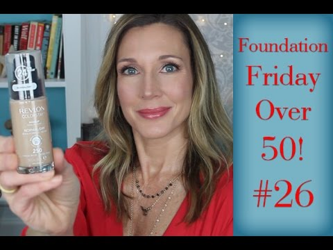 Foundation Friday Over 50 #26 Revlon ColorStay