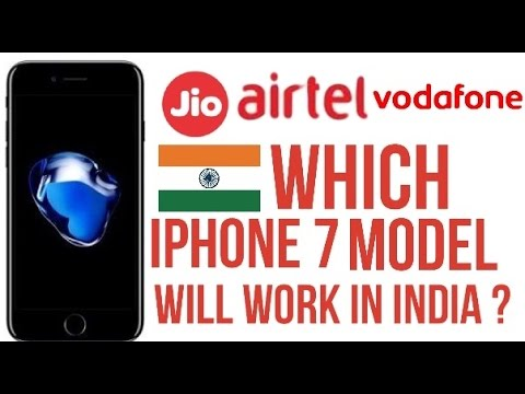 Which iPhone X/8/7 Imported/USA Model will work in India? (Jio)