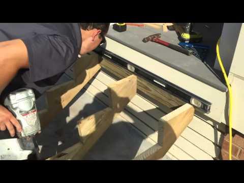 Composite Deck Steps Tutorial
