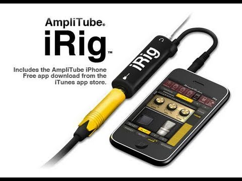 iRig & GarageBand for the iPad 2!