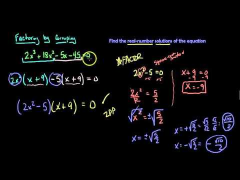 6.4 ZPP to find real number solutions