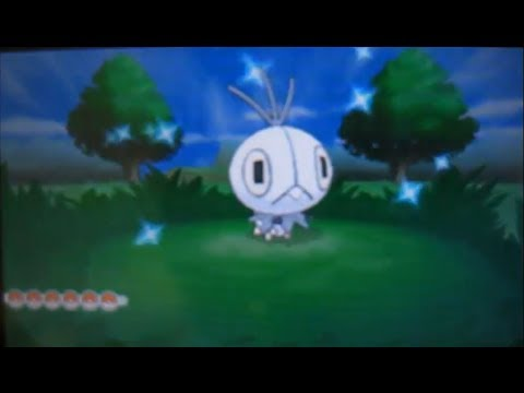 Shiny Scatterbug in Pokemon Y!!! My first shiny in years :D