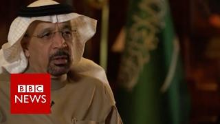 Saudi oil minister welcomes Trump era - BBC News