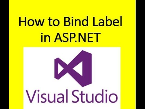How to bind label control in asp.net