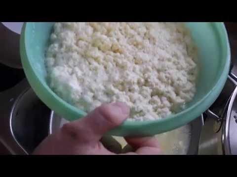 Quick Vinegar Cheese