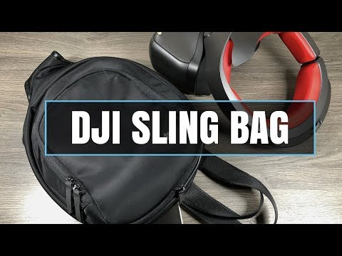 DJI Sling Bag for DJI Goggles Review