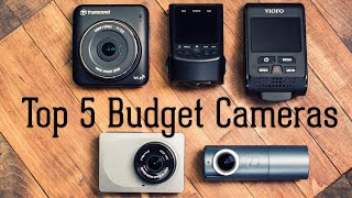 Top 5 Budget Dash Cameras - Great Cams That Don