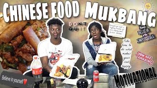 😋Chines Food Mukbang🥘[Motivational Talk For All Young Ones] 💯Ft. @RealPelmx