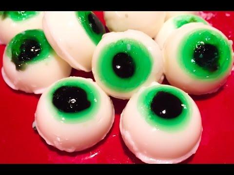 How to make Jello Eyeballs for Halloween