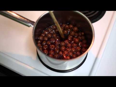 How To Make A Cherry Topping That's Perfect For Cheesecake