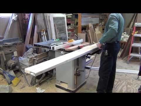How to Make a Snowboard Rail - Lumberjack Johnny