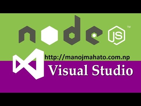 Step by Step Node.js with Visual Studio