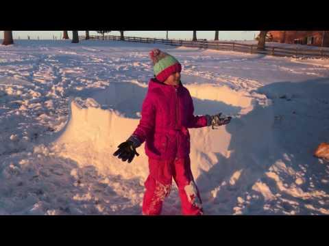 Kids Life - How to make an Igloo house