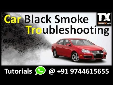Why black smoke coming from my car engine | Troubleshooting 1 | Must Watch