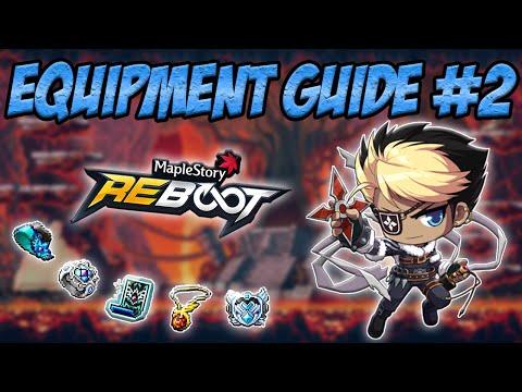 Maplestory Reboot: Equipment Guide #2