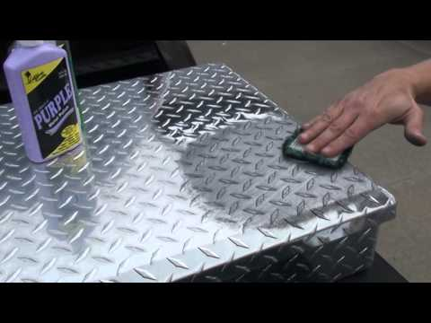 How to Polish Diamond Plate the Easy Way by Hand #2