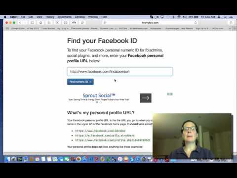 How To Find Your Facebook ID Number