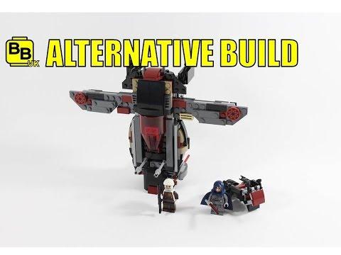 LEGO STAR WARS 75145 ALTERNATIVE BUILD DENGARS SHIP