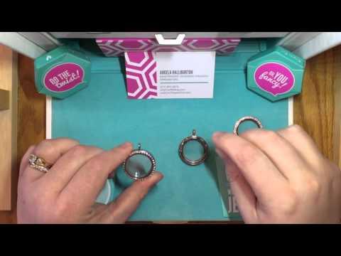 Origami Owl - Living Locket vs Twist Locket