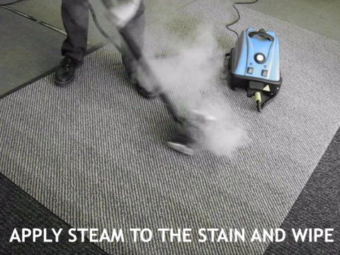 How to Remove Carpet Stain with Steam Cleaner