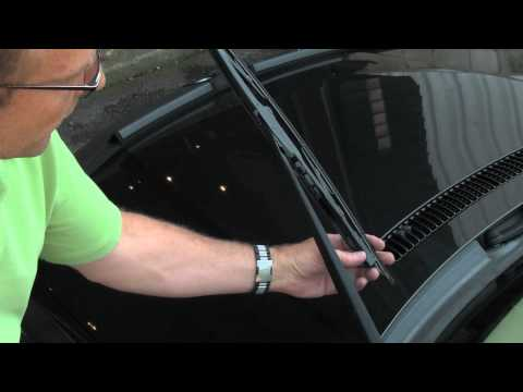 Installing Wiper Blades on a BMW or MINI