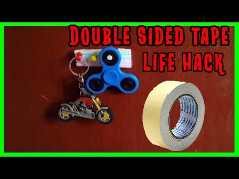 Double Sided Tape Hack #2