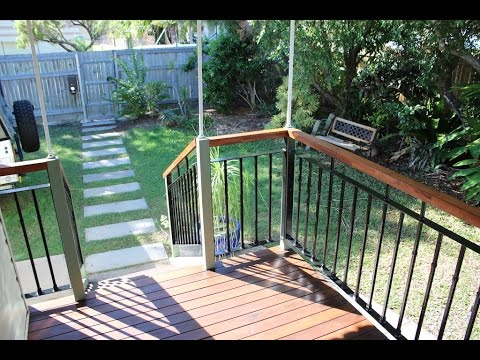 Make a Steel Balustrade and Porch Renovation